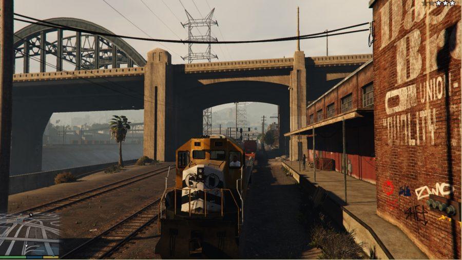 gta v mod train driver