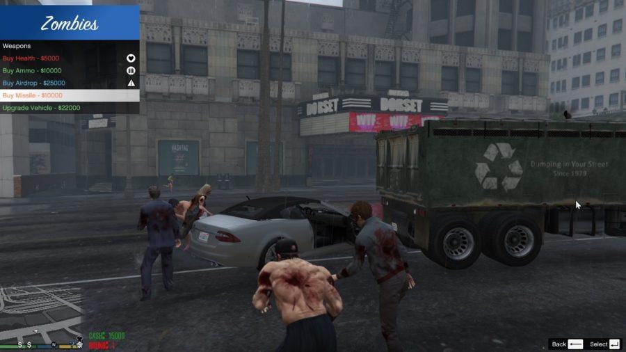 gta v mods zombies beta