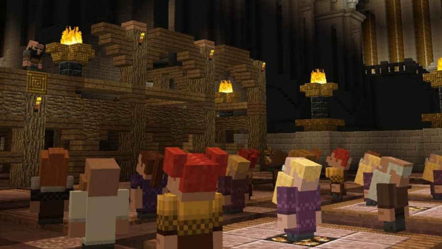 Minecraft console commands crowd