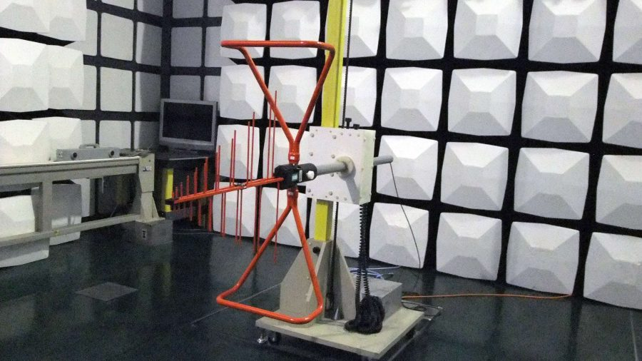 Electromagnetic testing facility