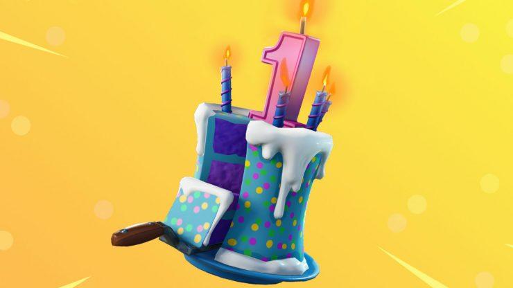 Fortnite patch 5.1 - #1st birthday