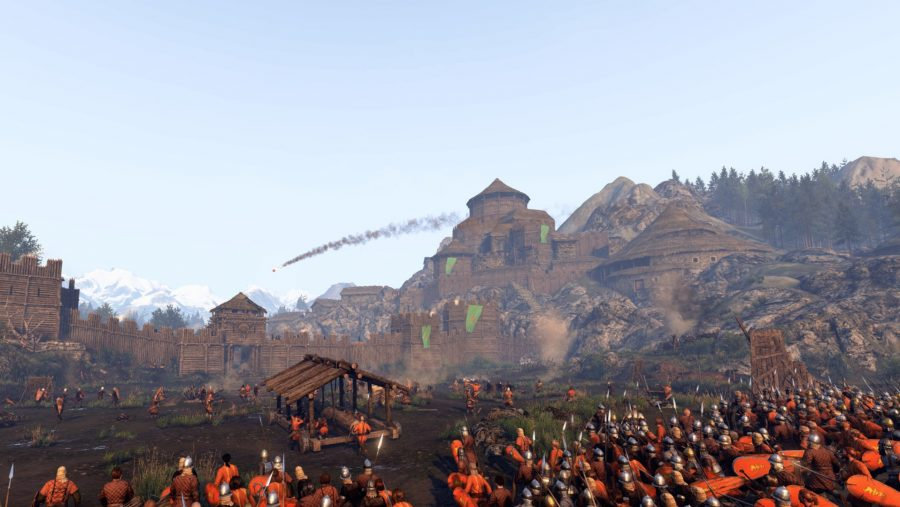 Mount & Blade II Bannerlord attack