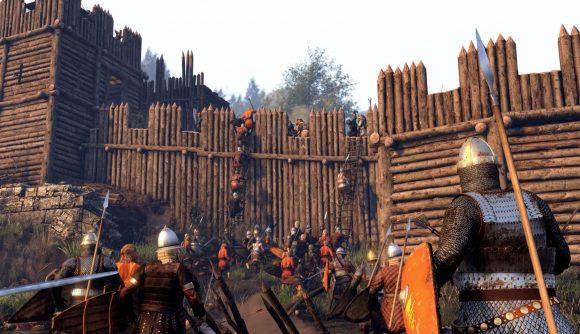 Mount & Blade II Bannerlord wall climb