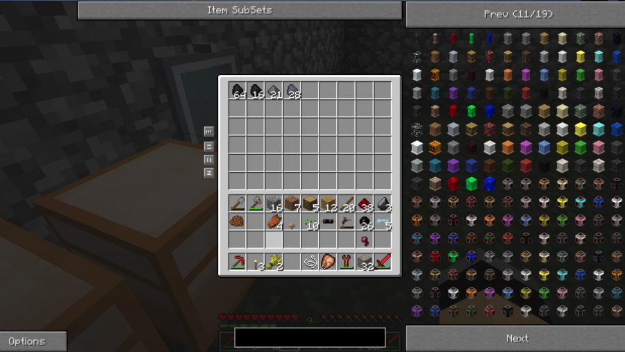 Minecraft 2 inventory tweaks