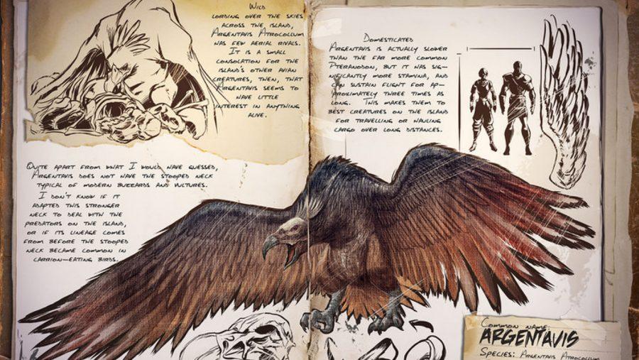 ark dinosaurs argentavis