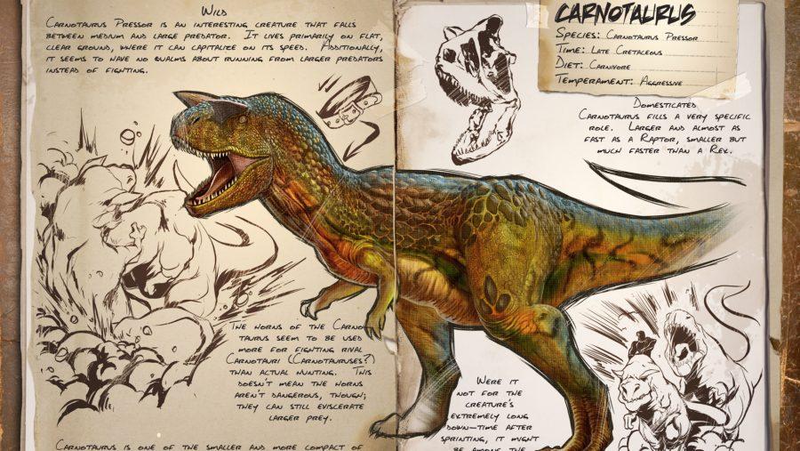 ark dinosaurs carnotaurus