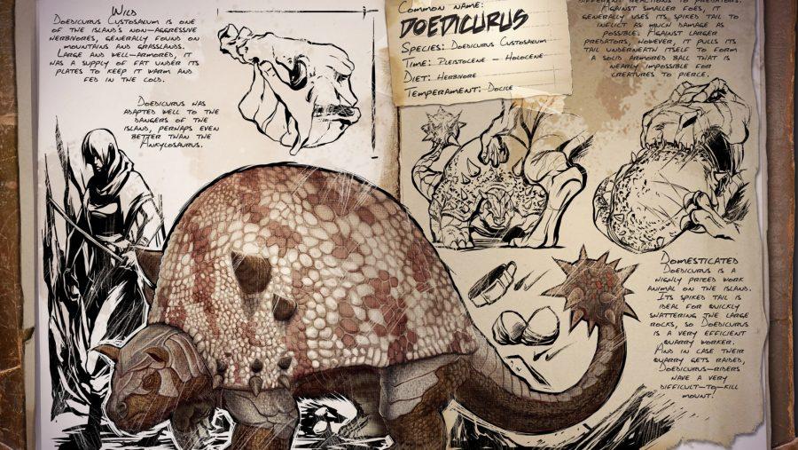 ark dinosaurs doedicarus