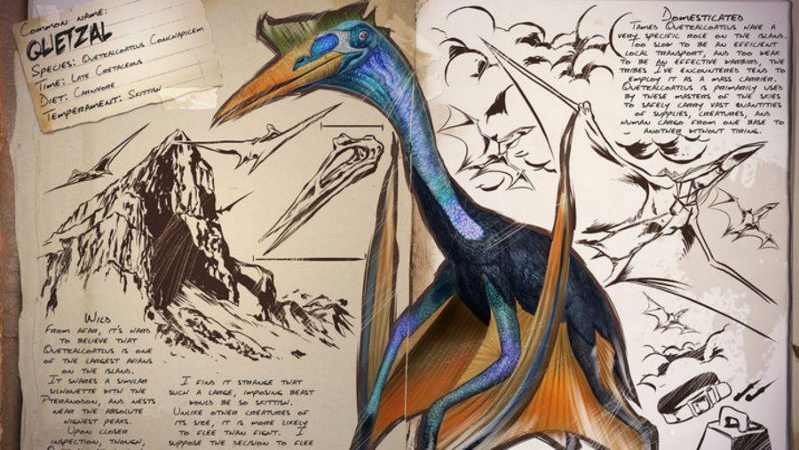ark dinosaurs quetzal