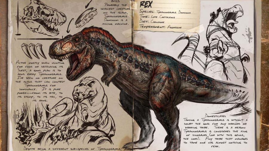 ark dinosaurs rex