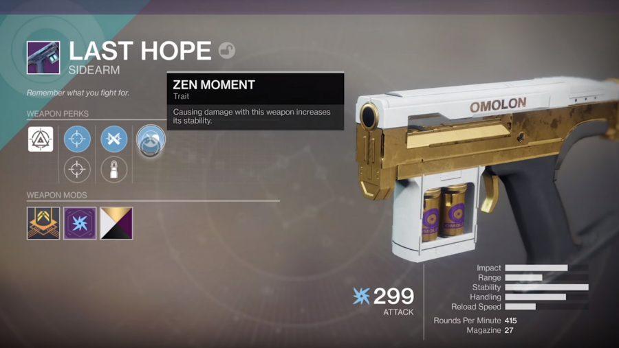 destiny 2 pvp weapons last hope