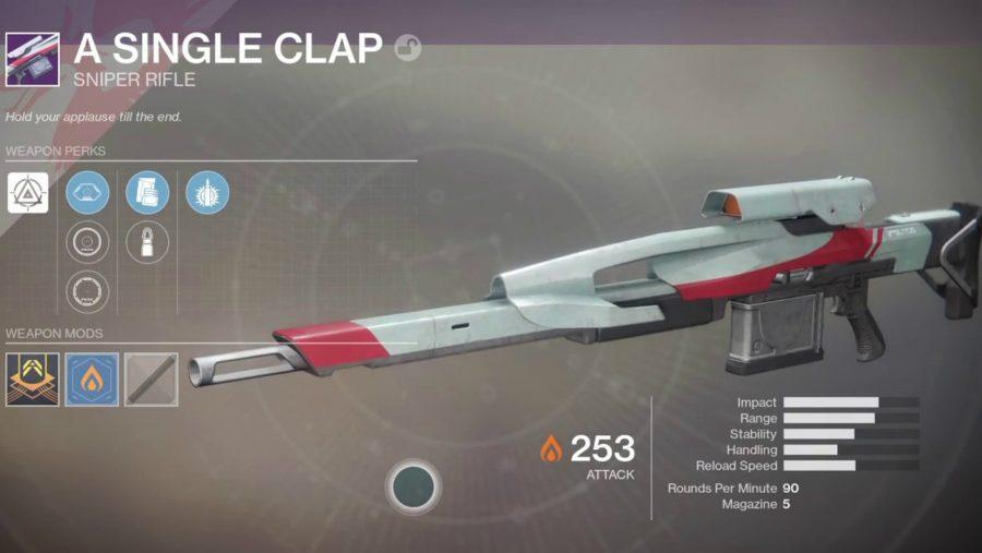 destiny 2 pvp weapons single clap