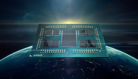 AMD Zen 2 chiplet design for Rome processor