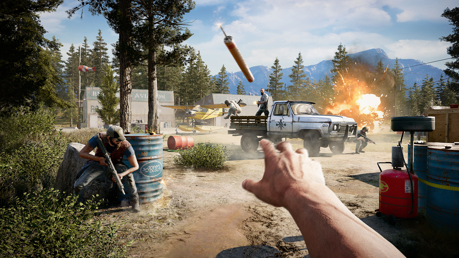 Far Cry 5 Pc Review Pcgamesn