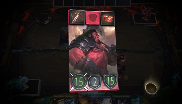 artifact cards red
