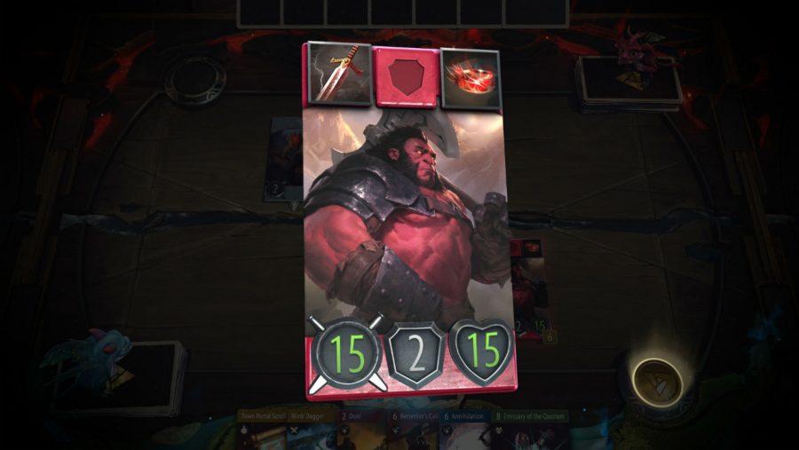artifact cards red