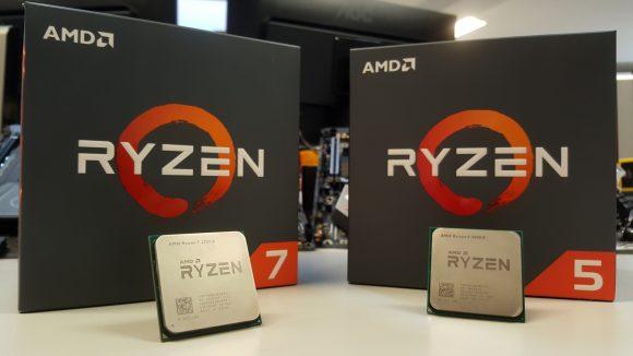 AMD Ryzen 7 2700X and Ryzne 5 2600X