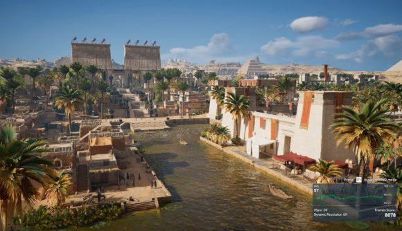 Assassin's Creed Origins benchmarks
