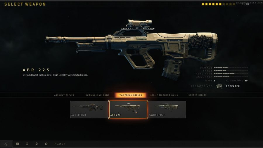 Blackout weapons - ABR 223