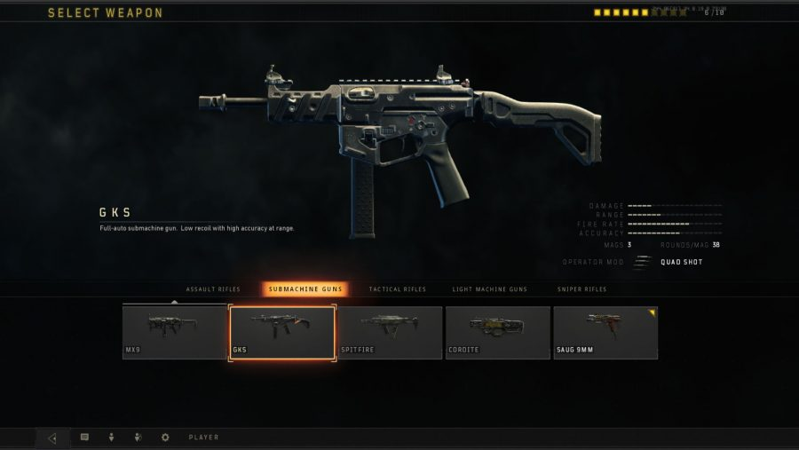 Blackout weapons - GKS