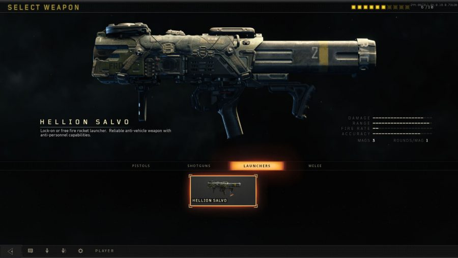 Blackout weapons - Hellion Salvo