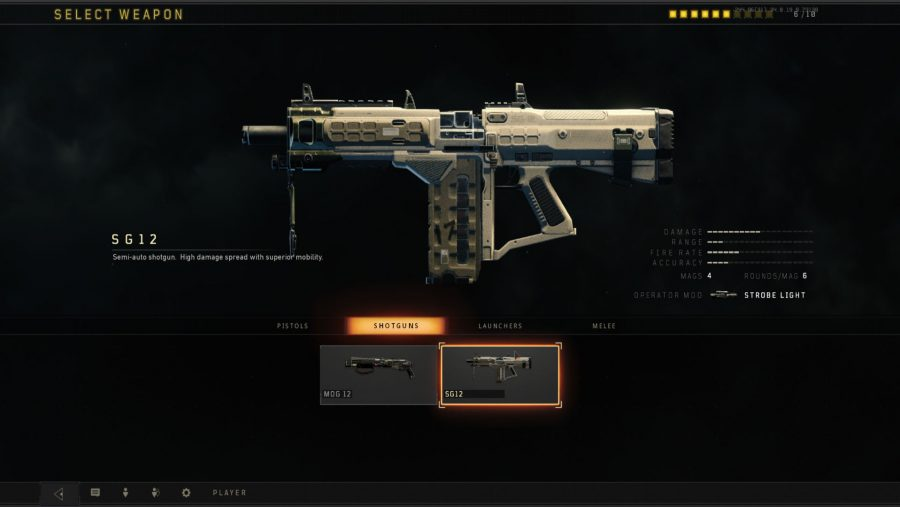 Blackout weapons - SG12