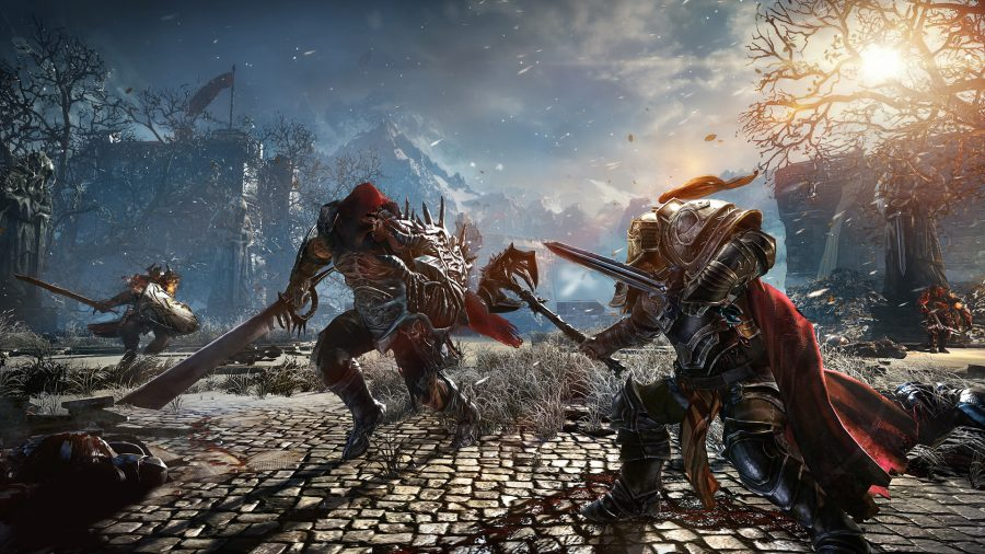 Lords of the Fallen battle