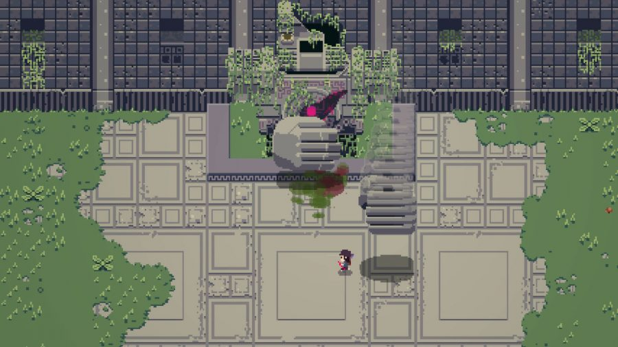 Titan Souls battle