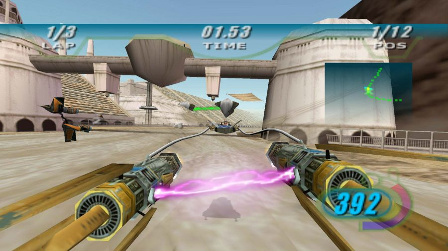 Best Star Wars games, Star Wars Episode 1 Racer