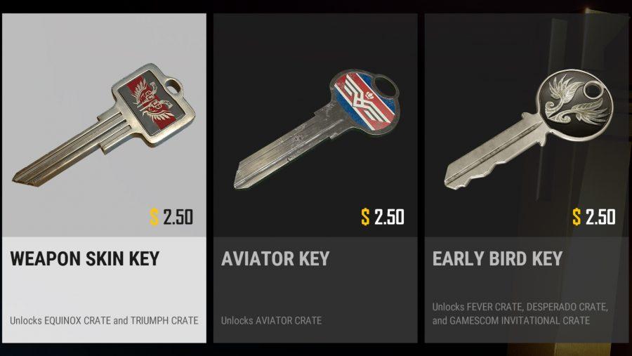 pubg crate keys