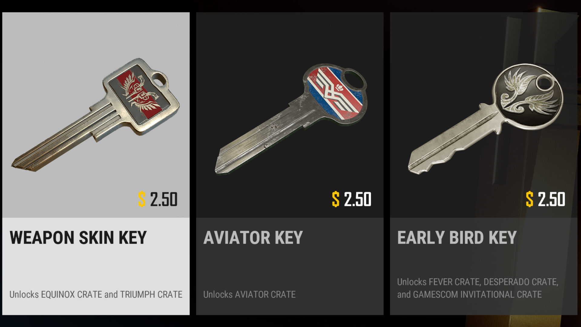 How PUBG crates work: items, cosmetics, and crate keys explained