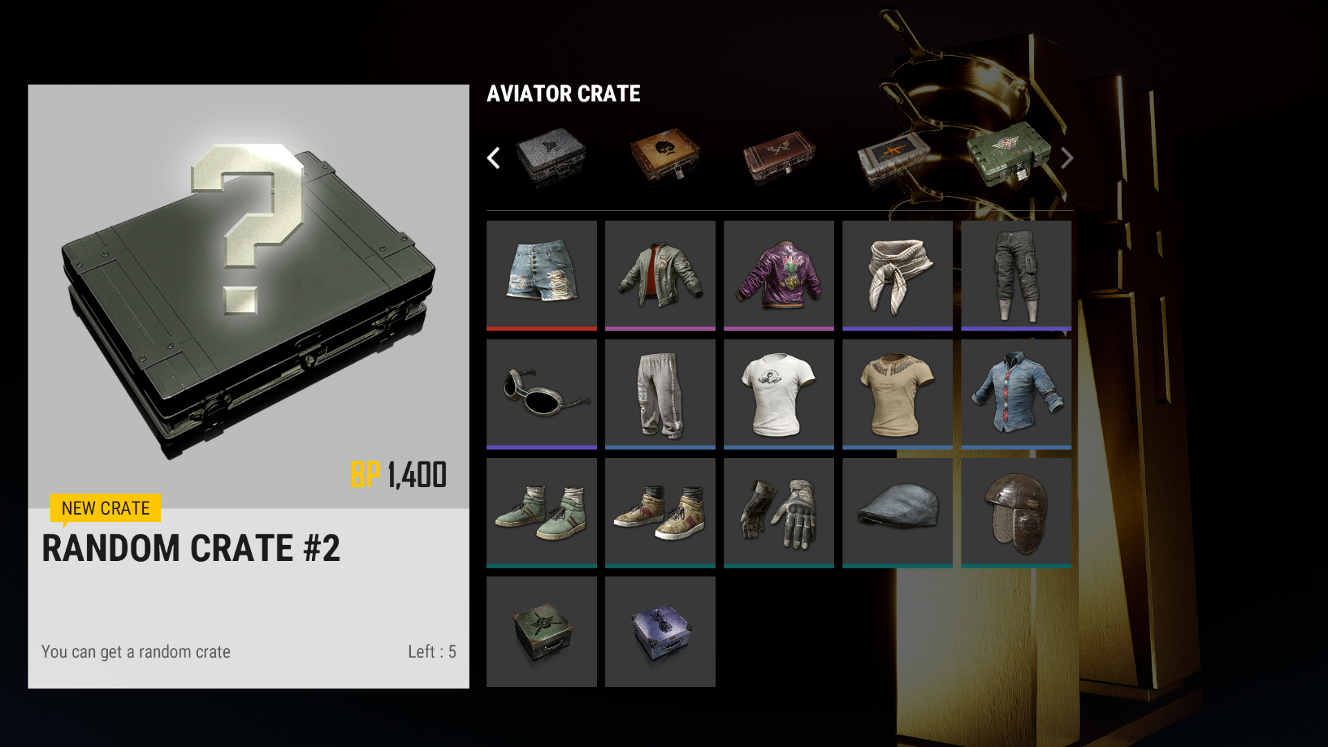How Pubg Crates Work Items Cosmetics And Crate Keys Explained