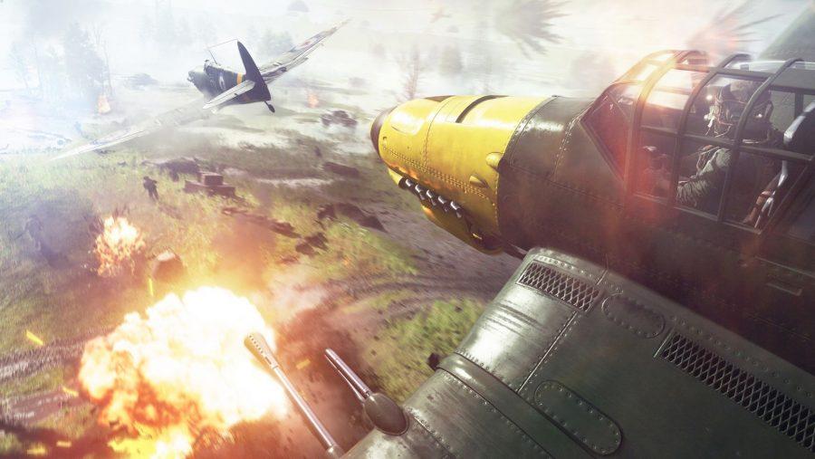 Battlefield 5 dogfight