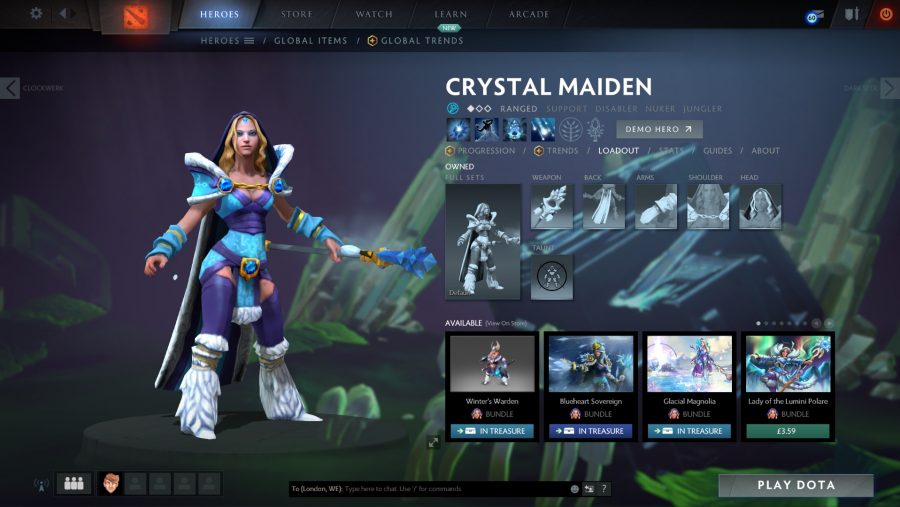 Best Dota 2 heroes - Crystal Maiden