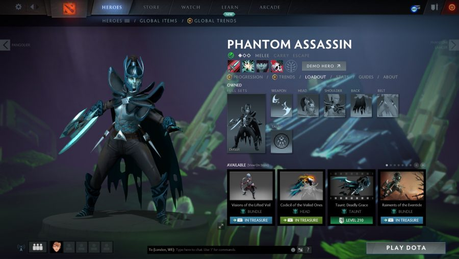 Best Dota 2 heroes - Phantom Assassin