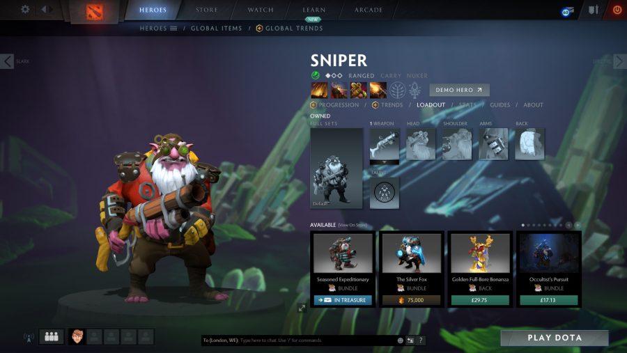 Best Dota 2 heroes - Sniper