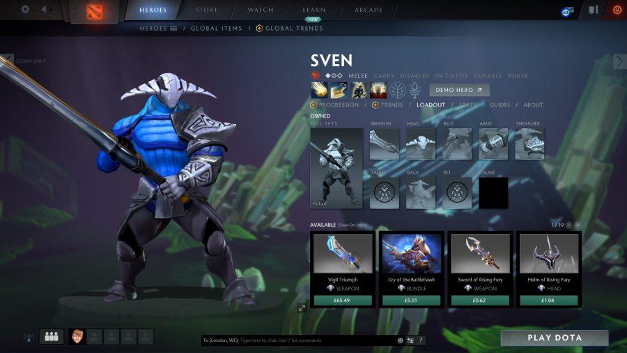 Best Dota 2 heroes - Sven