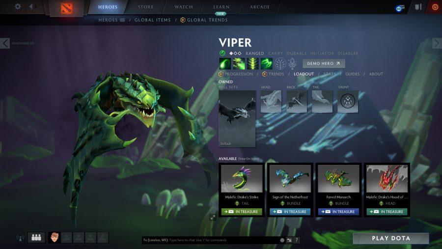 Best Dota 2 heroes - Viper