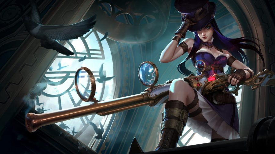 Best LoL champions - Caitlyn