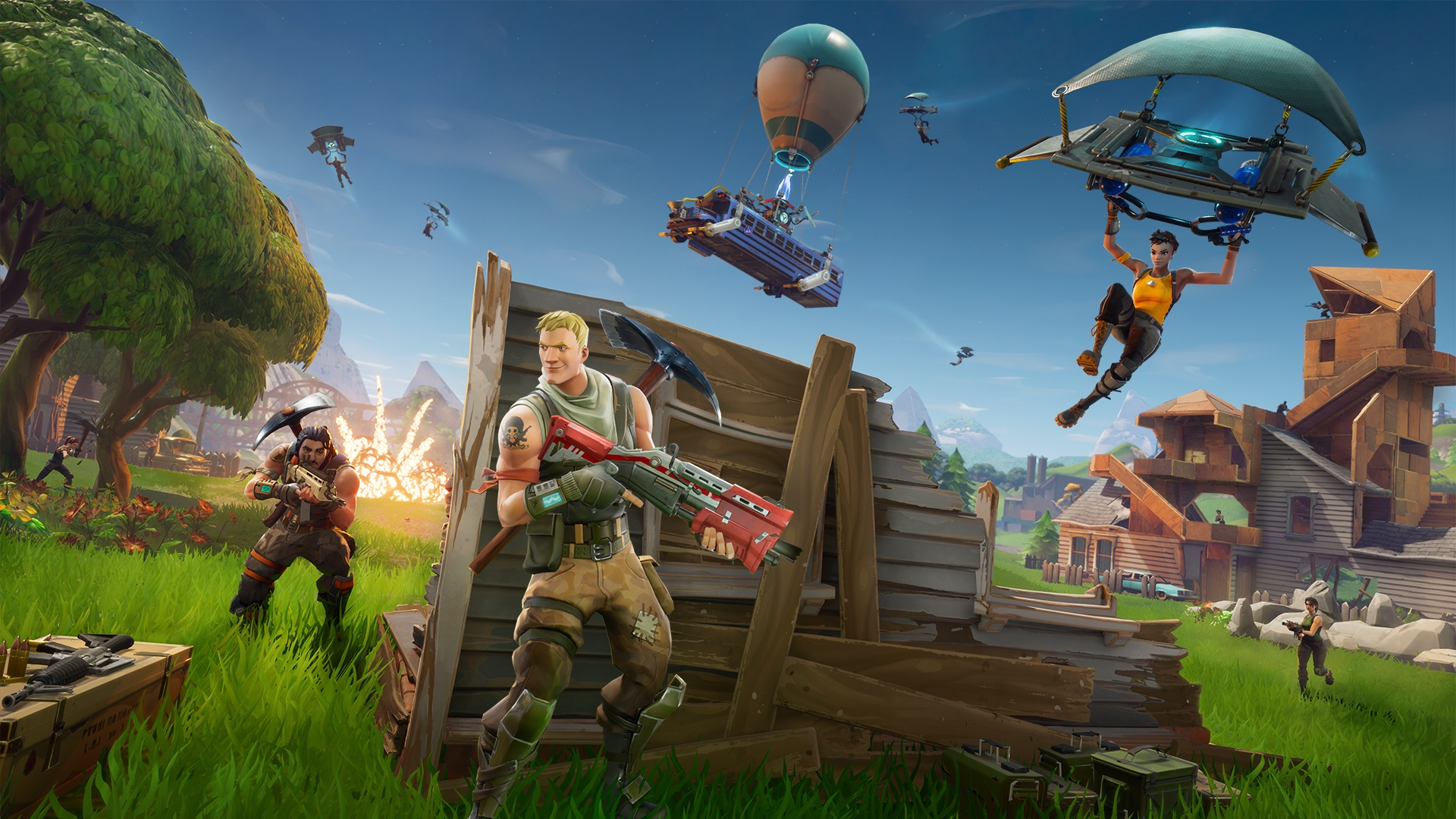 Battle Royale Games What Are The Best Games Like Fortnite PCGamesN - Minecraft survival spiele