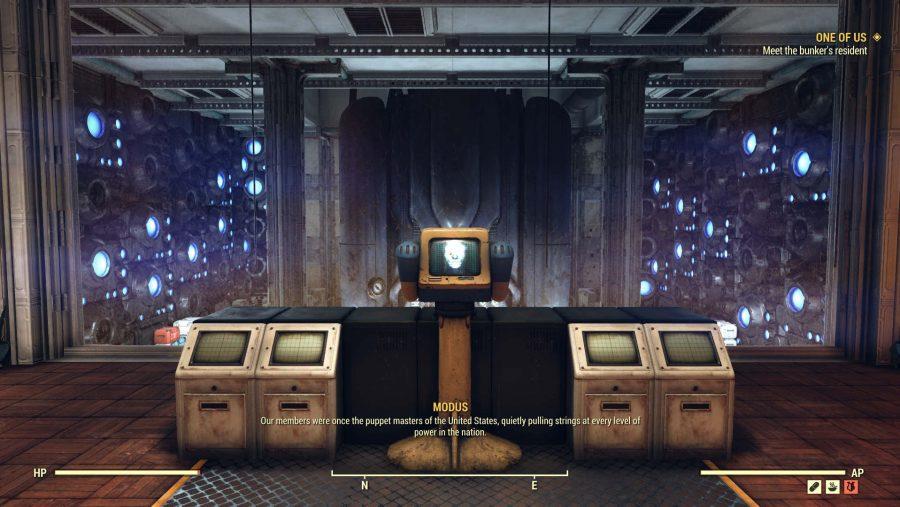 Fallout 76 nukes MODUS