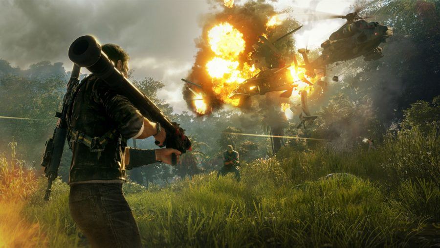 Just Cause 4 explosion
