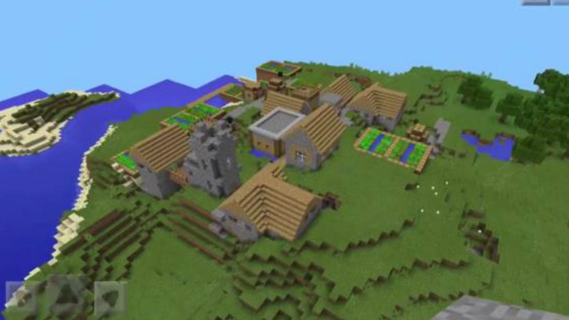 The Best Minecraft Pocket Edition Seeds PCGamesN - Minecraft maps download fur handy