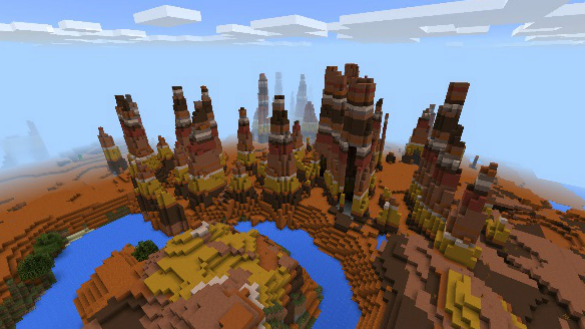 Minecraft Pocket Edition Castle Seed - Modern House