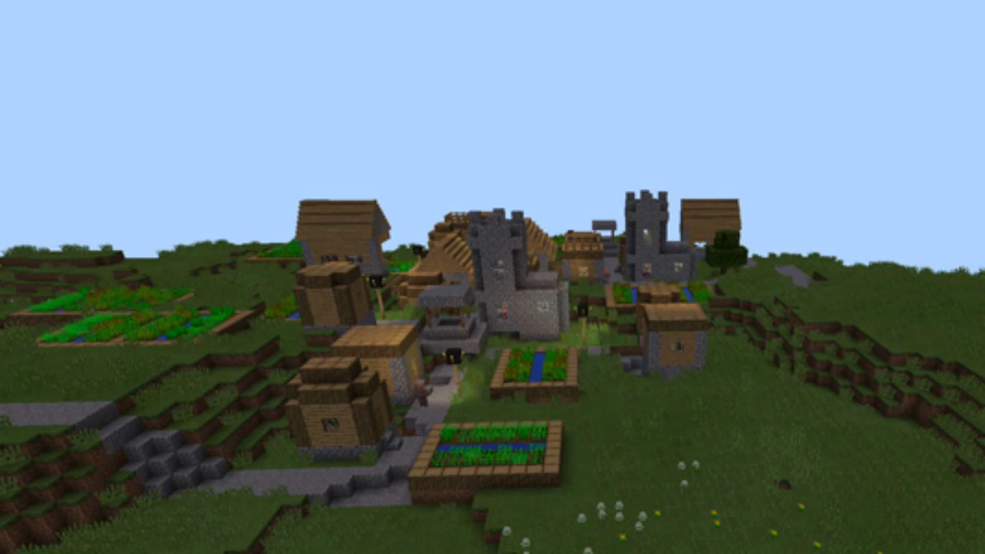 Mountainside Castle Minecraft - Minecraft Castle Map