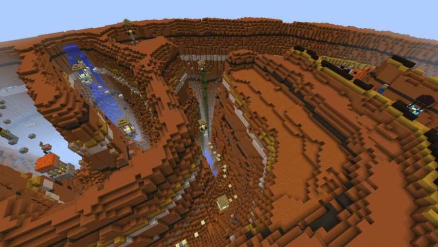 Minecraft maps - Canyon Jumps