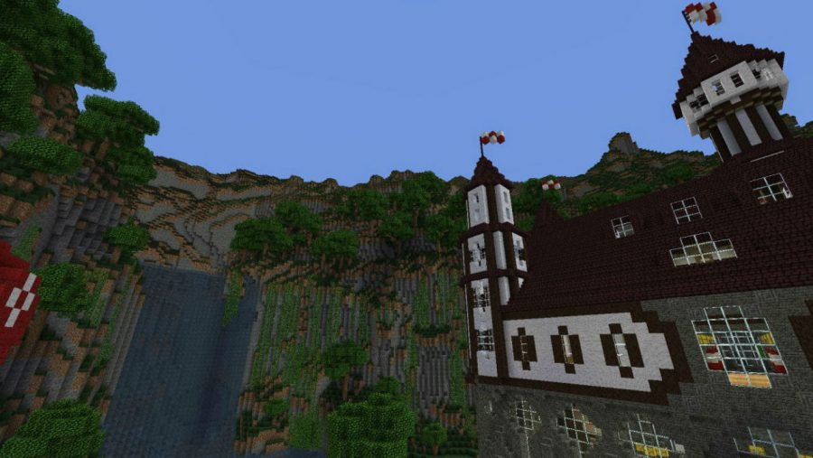 Minecraft maps - Castle Verilian of Aeritus