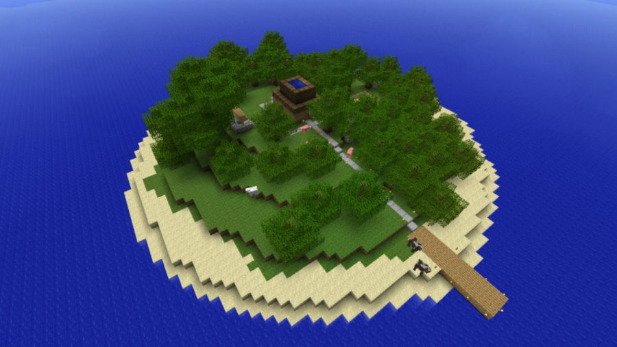 Minecraft maps - Enigma Island