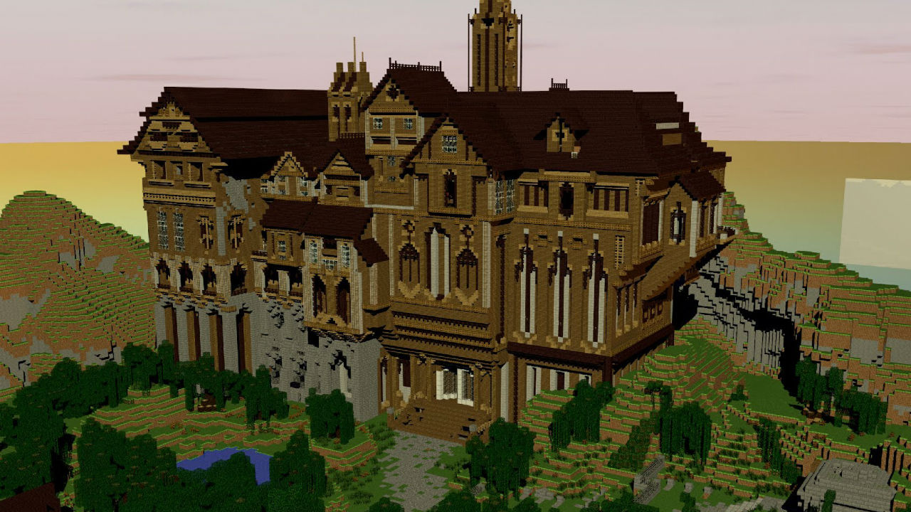 herobrines mansion download minecraft pe