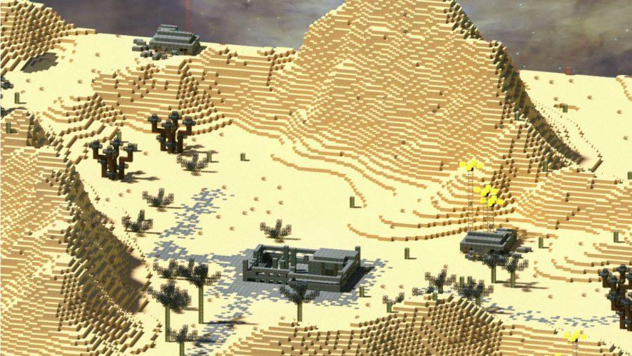 Карты Minecraft - Планета Невозможная