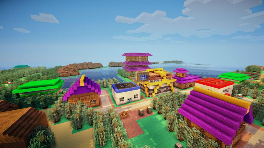 Minecraft maps - Pokemon Johto